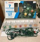 Vintage Noma Bubble Christmas Tree Lights 7 Multiple Colors
