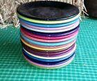 SALAD PLATE plum HOMER LAUGHLIN FIESTA WARE 7.25