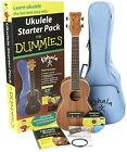 FOR DUMMIES Ukulele Music String Instrument Package Instructional Book Tuner Kit