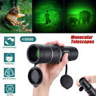 New DayNight Vision 40X60 HD Optical Monocular Hunting Camping Hiking Telescope