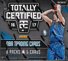 2016 17 PANINI TOTALLY CERTIFIED BASKETBALL HOBBY BOX Factory Sealed