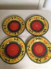SET OF 4 Tabletops Gallery LA PROVINCE Dinner Plates 11 3/8