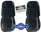 1968 Camaro Deluxe Front Rear Seat Upholstery Covers - Pui New