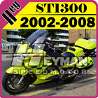 Heyman ABS Fairing Fit ST1300 2002-2008 02-08 Pan-European Yellow Green H13H45