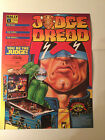 JUDGE DREDD NOS 4 PAGE PINBALL MACHINE FLYER BROCHURE BY BALLY