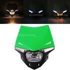 Green UFO Enduro Headlight Fairing For Derbi 50cc GPR Nude Racing EBS050 D50B0