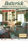 Butterick 5350 Home Decor with Waverly Easy Furniture Cover-ups Throws