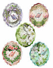 SPRING FLORAL BUTTERFLY 27 SCRAPBOOK CARD EMBELLISHMENTS HANG GIFT TAGS