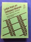 LETTER FROM AN UNKNOWN WOMAN FIRST EDITION BY MAX OPHULS