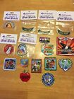 Girl Scout Fun Patches Lot of 18 Different Patches FREE SHIPPING
