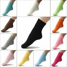 Kids Gift Home Fluffy Warm Winter Soft Pure Color Bed Floor Socks