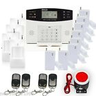 GSM Alarm System Kit Home Security with Smoke Fire Alarm Wireless Autodial US