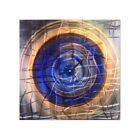 Metal Wall Art Clock Vanishing Water II Contemporary Modern Dcor by Ash Carl