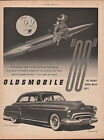 1950 Oldsmobile car ad Rocket 88 Hydra matic 247