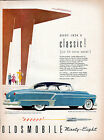 1952 Oldsmobile Car Ad 98 Holiday Coupe  v724