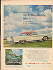 1958 Oldsmobile 98 car ad Holiday coupe 881