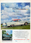 1958 Oldsmobile Car Ad Olds 88 Coupe v619