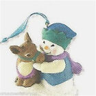 Hallmark 2011 Snow Buddies  Repaint Ornament Creased Box
