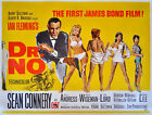 Movie POSTER James Bond 007 Dr No Sean Connery 20x27 inch