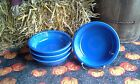 Lot 4  19OZ CEREAL soup BOWL lapis blue FIESTAWARE FIESTA