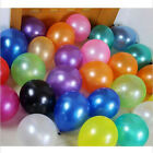 Household 100pcs 10 inch Pearl Latex Colorful Wedding Party Birthday Balloon