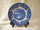 Bread & Butter Plate, Churchill, English Scene Blue Pattern, Castle, England
