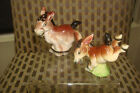 VINTAGE SALT  PEPPER JAPAN BUCKING WESTERN DONKEY MULE WITH AN ATTITUDE COWBOY