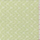 Celery Green Chevron Stretch Lace Fabric By The Yard