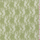 Celery Green Stretch Lace Fabric By The Yard