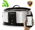 Crock-Pot Smart Wifi-Enabled WeMo Slow Cooker Ship Cook Connect from anywhere