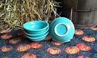 4 SALSA FRUIT ICE CREAM BOWL turquoise blue FIESTAWARE FIESTA new 9oz