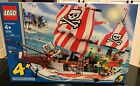 Vintage LEGO Pirate Ship (7075) New In Sealed Box NISB Ocean