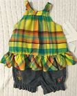 New Tags 6 Month Ralph Lauren Baby Girls 2 Piece 100 Cotton Outfit