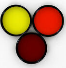 Vivitar 48mm red orange  yellow set of 3 contrast filters new old stock