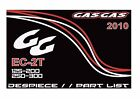 Gas Gas Parts Manual Book Chassis & Engine 2010 EC-2T MC 125, 200, 250 & 300