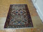 1940 Hamedan Borchaloo Antique Exquisite Stunning Hand Made Persian Rug