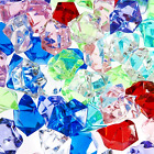 Bulk Pirate Treasure Jewels Gems 1 Pound Bag Approx 160pc Party Decor Stage Prop
