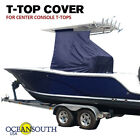 Center Console T TOP COVER BLUE Large