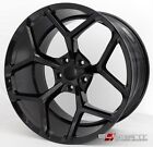 20x10 20x11 Staggered 2010 2017 Chevy Camaro Z28 Black Replica Custom Wheels