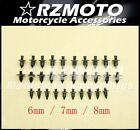 10Pcs 4/5/6(mm) Plastic Expansion Screw All Fairings Universal Fit HONDA-3