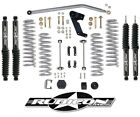 Rubicon Express 35 Lift Kit w Twin Tube Shocks 2007 2017 4dr Jeep Wrangler JK