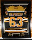 Brad Marchand Boston Bruins Signed Autographed Framed Home Hockey Jersey
