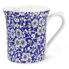 NEW Queens Blue Story Victorian Calico Mug