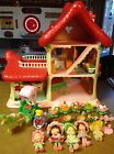 STRAWBERRY SHORTCAKE BERRY HAPPY HOME DOLL HOUSE FURNISHED