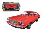 1976 Ford Mustang II Mach 1 Red with Black 118 Diecast Car Model 12867