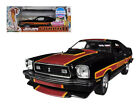 1978 Ford Mustang Cobra II Black Free Wheelin Movie 118 Diecast Car GL12891bk