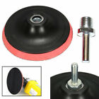 3/4/5/6/7'' Polishing Buffing Plate Rubber Backing Pad +M14 Drill Thread Kit