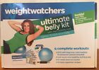 Weight Watchers Ultimate Belly Kit DVD Stability Ball Unopened Exercise Set