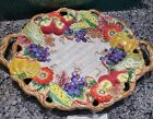 FITZ and FLOYD Autumn Bounty Fall  XLarge Oval  Serving Platter