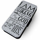 A Daughter Of The Risen King - Faux Leather Flip Phone Cover Case Jesus God Lord